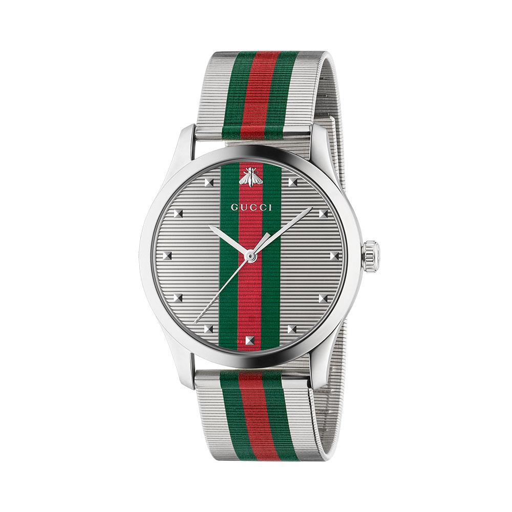 Gucci G-Timeless Contemporary GRG Mesh Watch