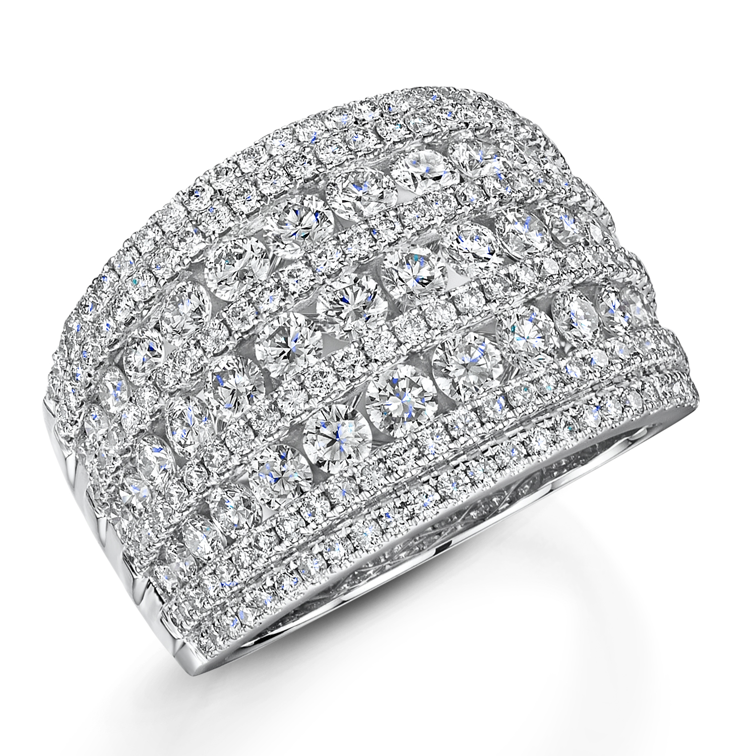 Diamond Dress Ring 2.74cts