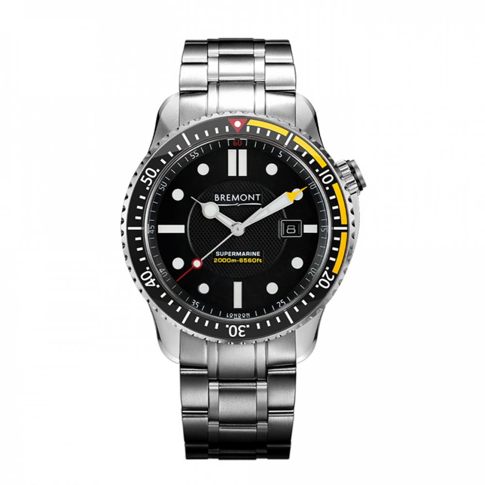 Bremont Supermarine S2000 Yellow 45mm Steel Watch