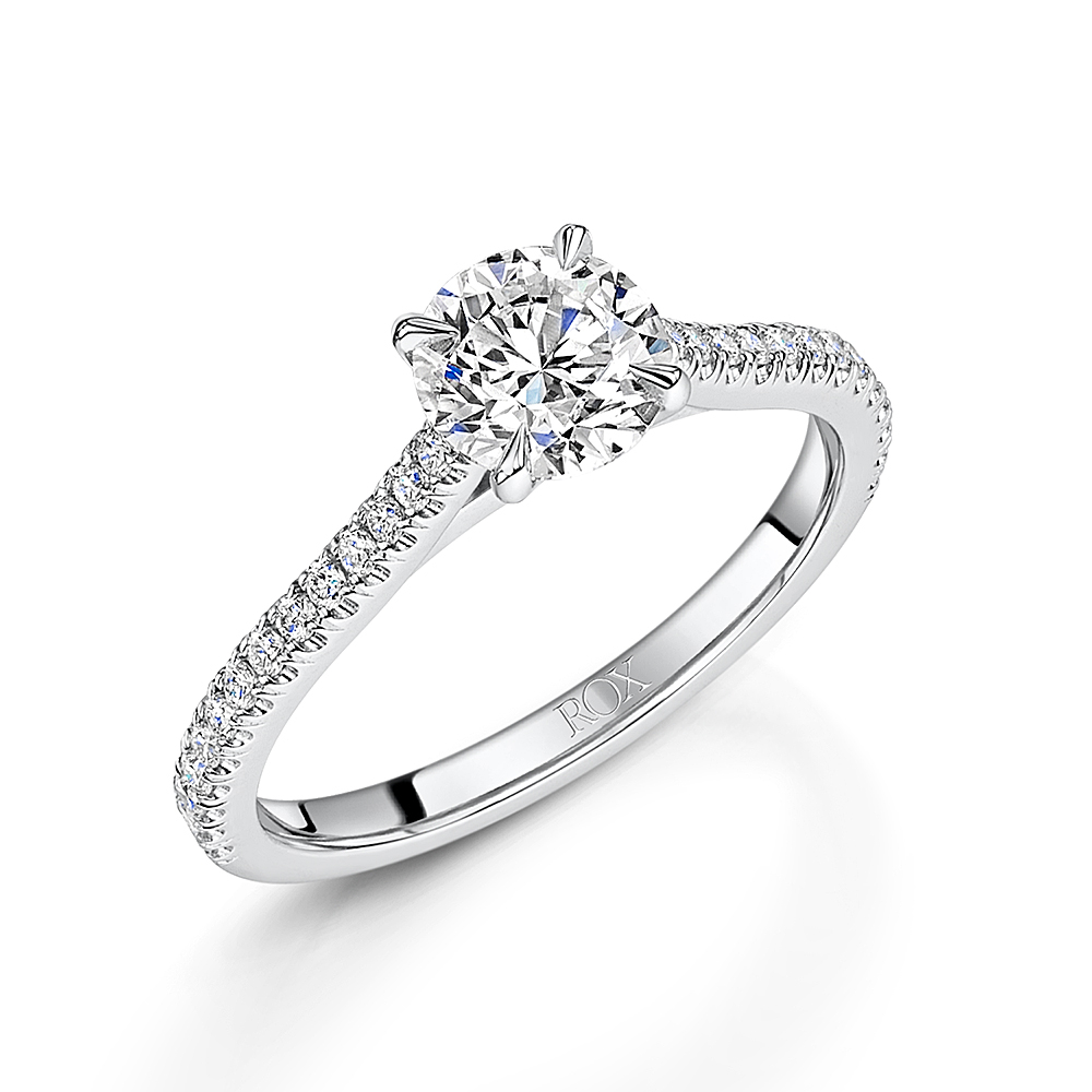 Love Brilliant Cut Diamond Ring 1.22cts