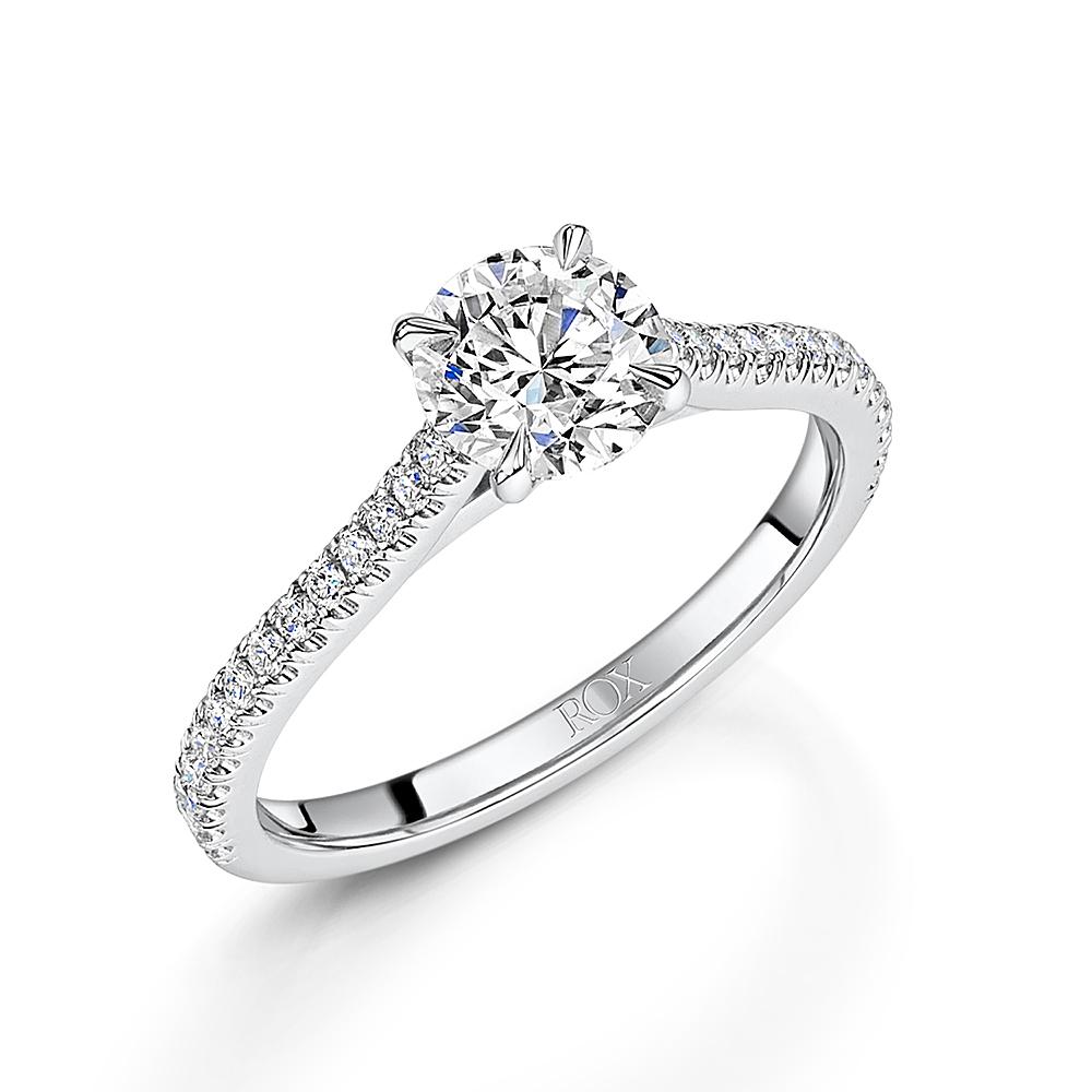 Love Brilliant Cut Diamond Ring 1.22cts