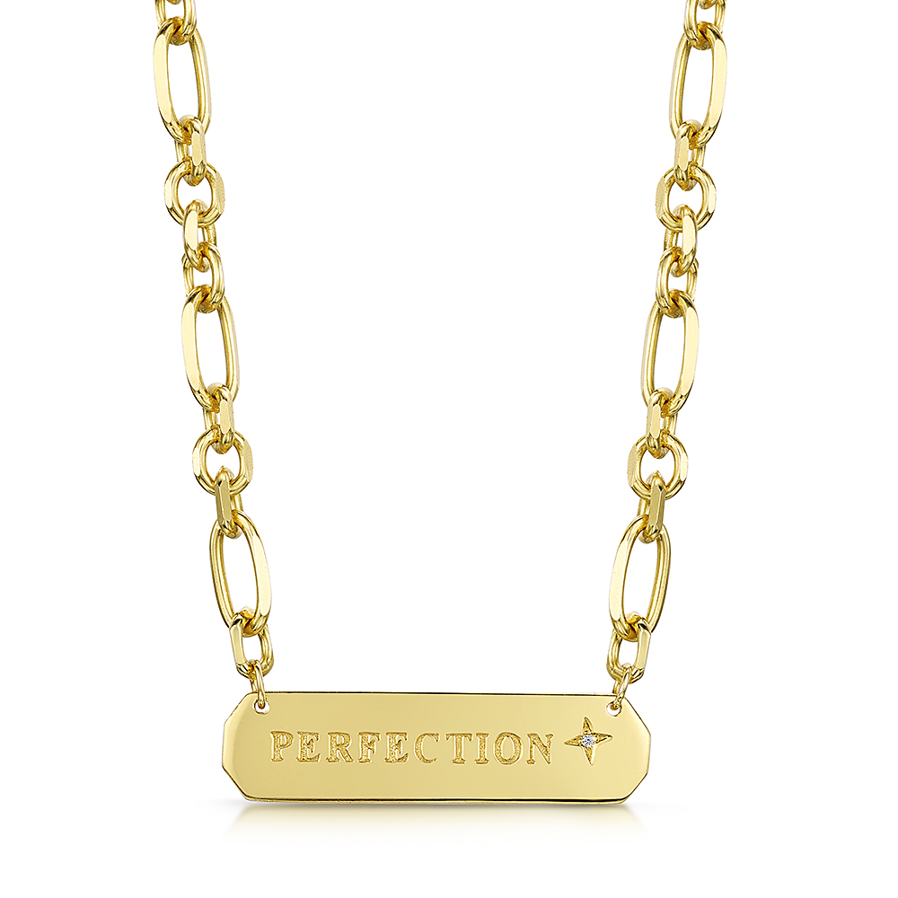 ROX LOX 'Perfection' Diamond Necklace 0.02ct
