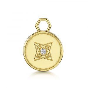 ROX LOX Diamond Disc Charm
