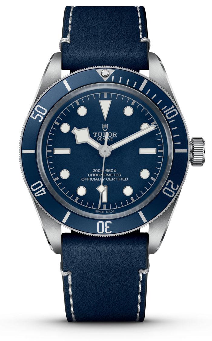 Tudor Black Bay Fifty-Eight Soft Touch Strap Watch M79030B