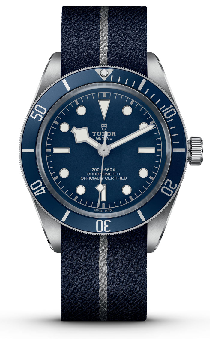 Tudor Black Bay Fifty-Eight Fabric Strap Watch M79030B