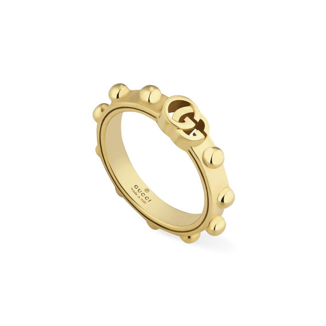 Gucci GG Running 18ct Yellow Ring