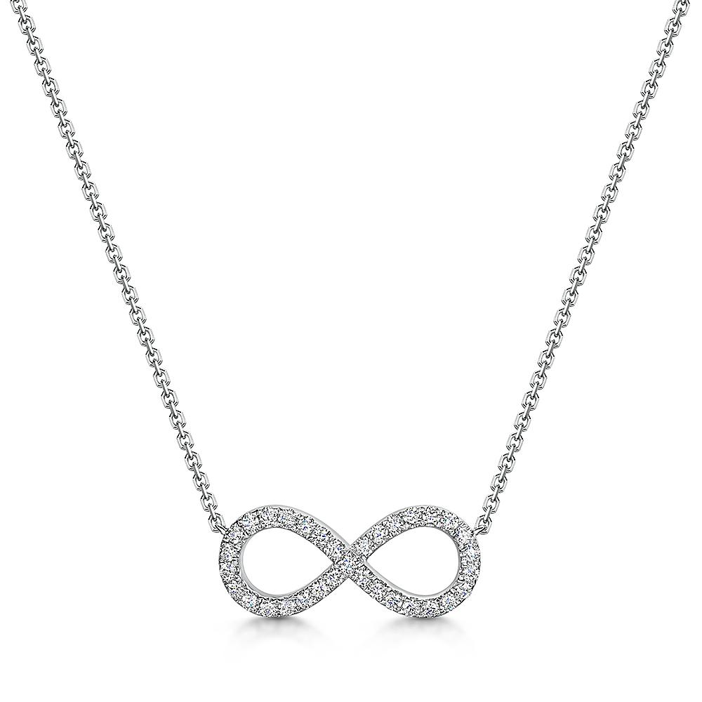 Infinity Pendant 0.33cts