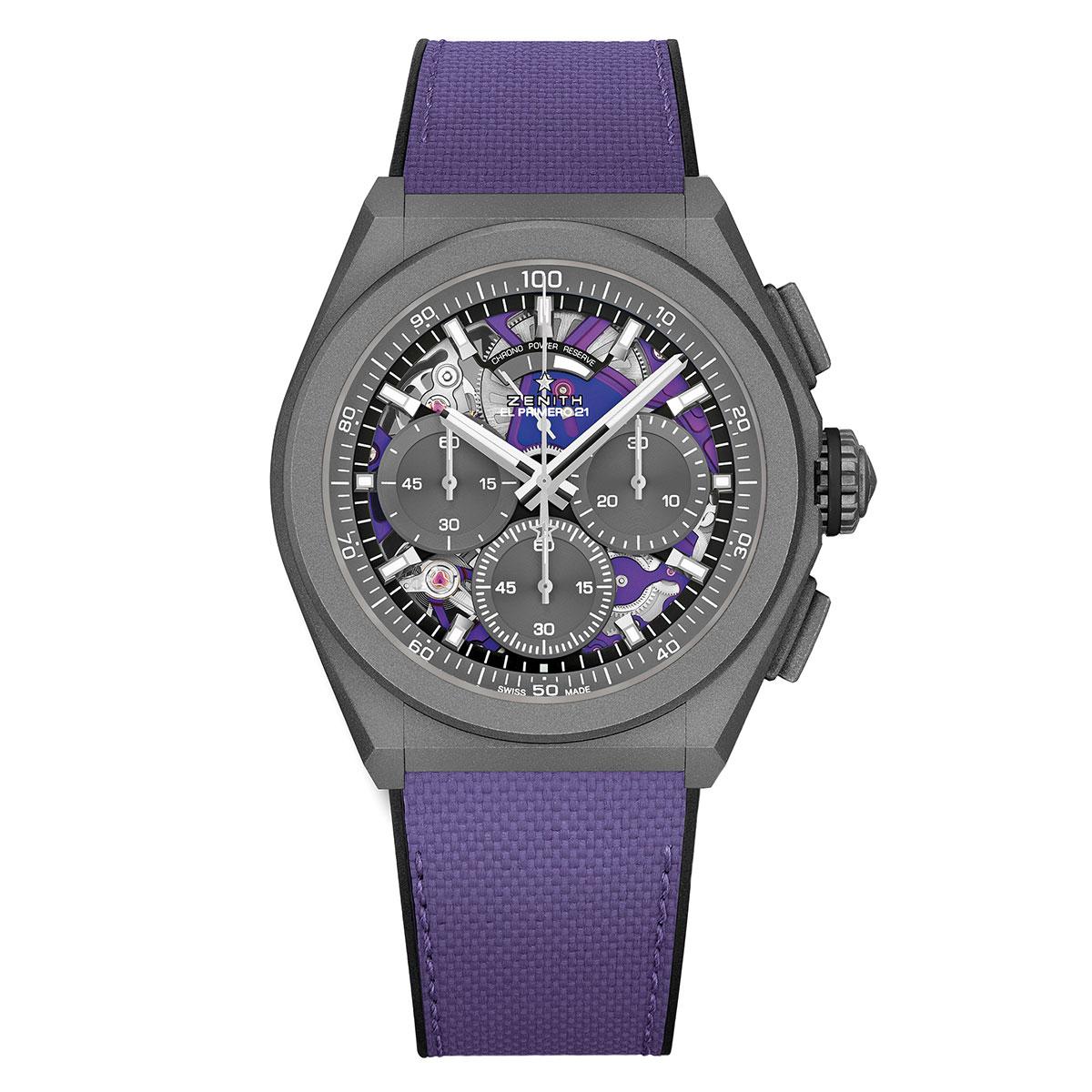 Zenith Defy Primero 21 Ultraviolet Watch 44mm