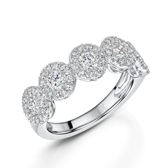 ROX Diamond Brilliant Cut Dress Ring 1.25cts