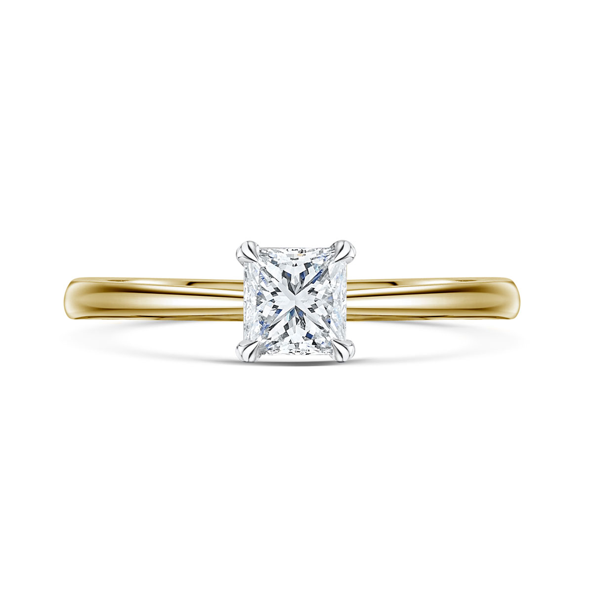 Honour Princess Cut Diamond Ring