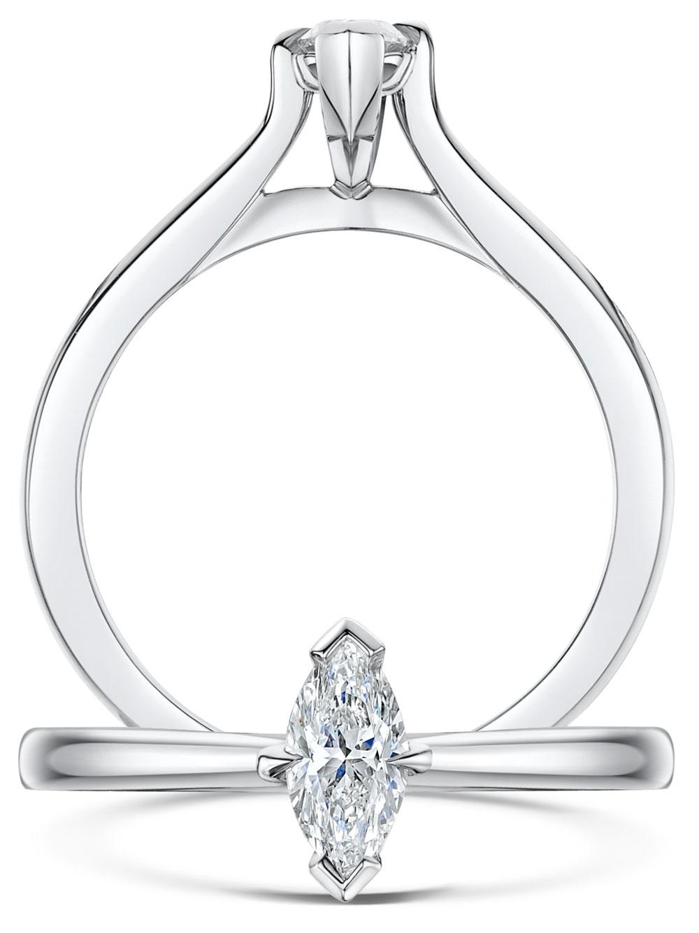 Honour Marquise Cut Diamond Ring