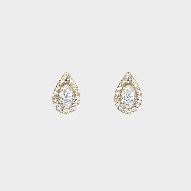 ROX Diamond Halo Earrings 0.51cts