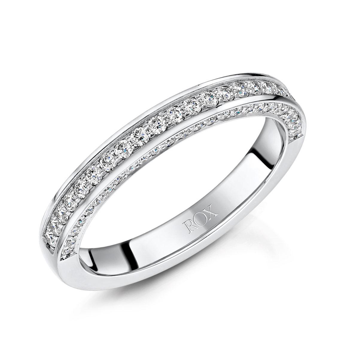 ROX Adore Diamond Wedding Ring 0.37ct