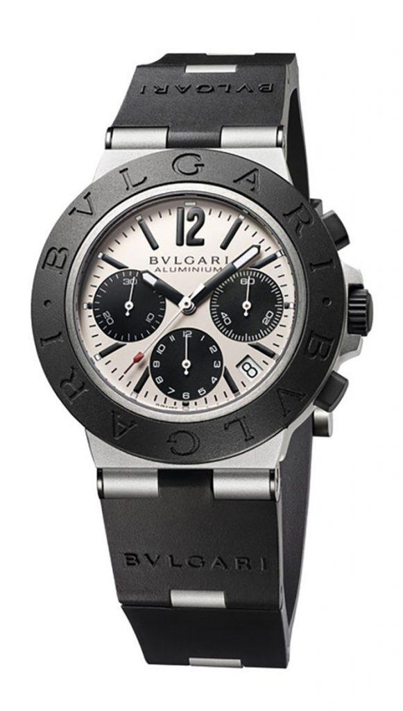 Bulgari Aluminium Chronograph 40mm Watch
