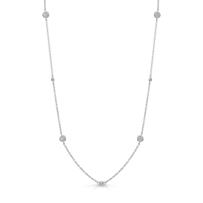 ROX Talisman Blue Topaz Necklace