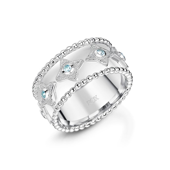 ROX Talisman Blue Topaz Ring