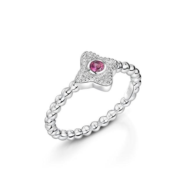 ROX Talisman Pink Rhodolite Garnet Ring