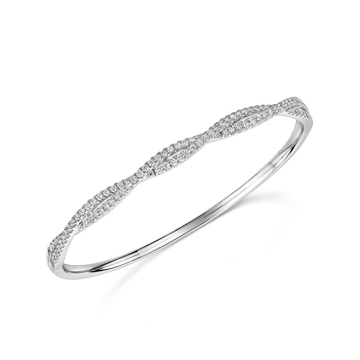 ROX Diamond Twist Bangle 1.43cts