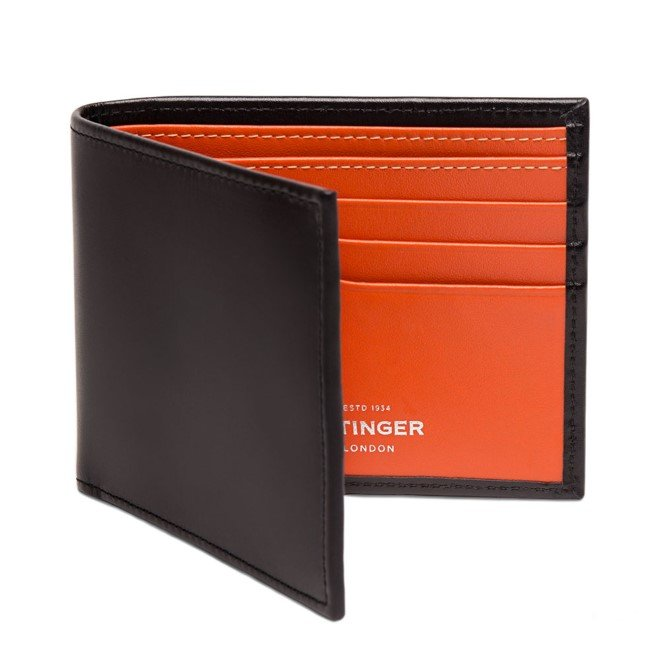 ETTINGER Sterling Billfold Wallet with 6 CC