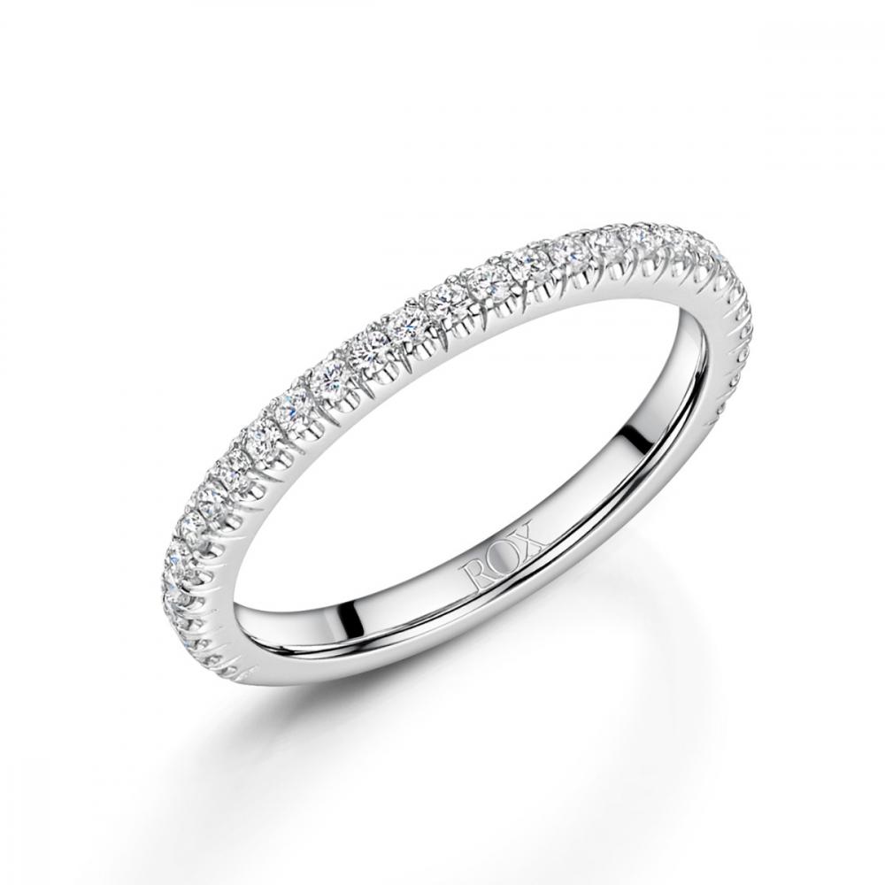 ROX Love Brilliant Cut Diamond Wedding Ring