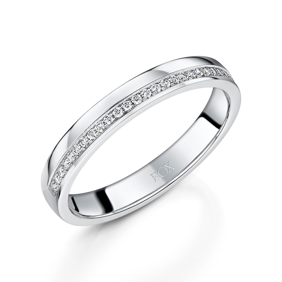 ROX Honour Diamond Wedding Ring 0.15cts