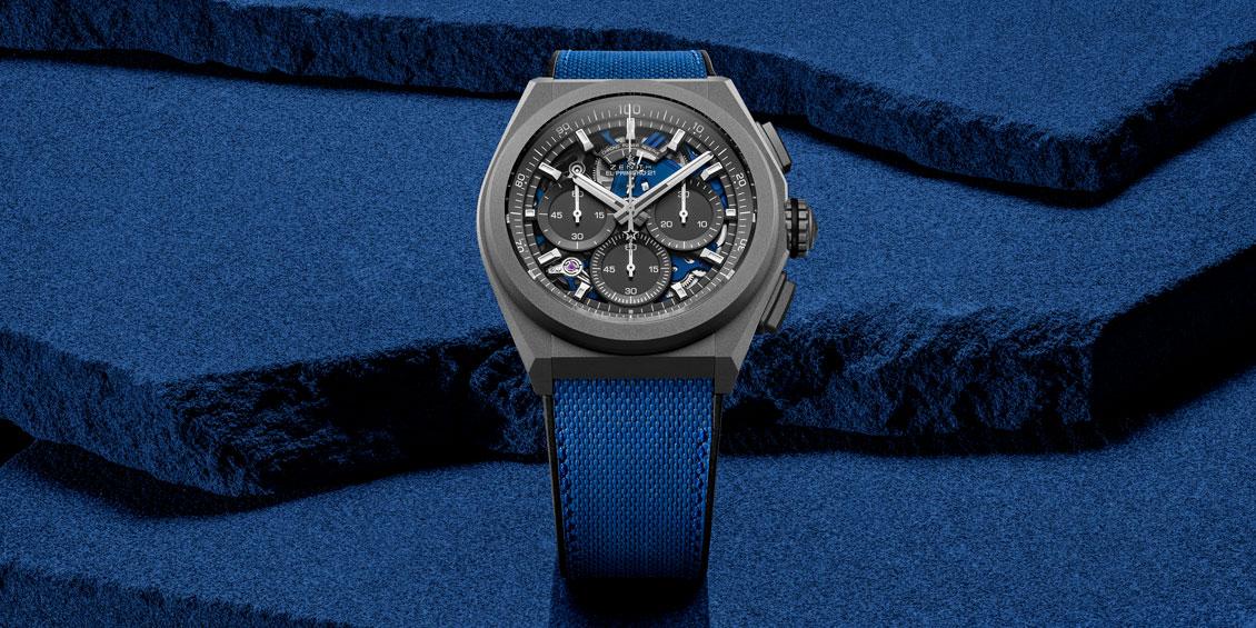 Zenith Defy 21 Ultrablue Watch 44mm
