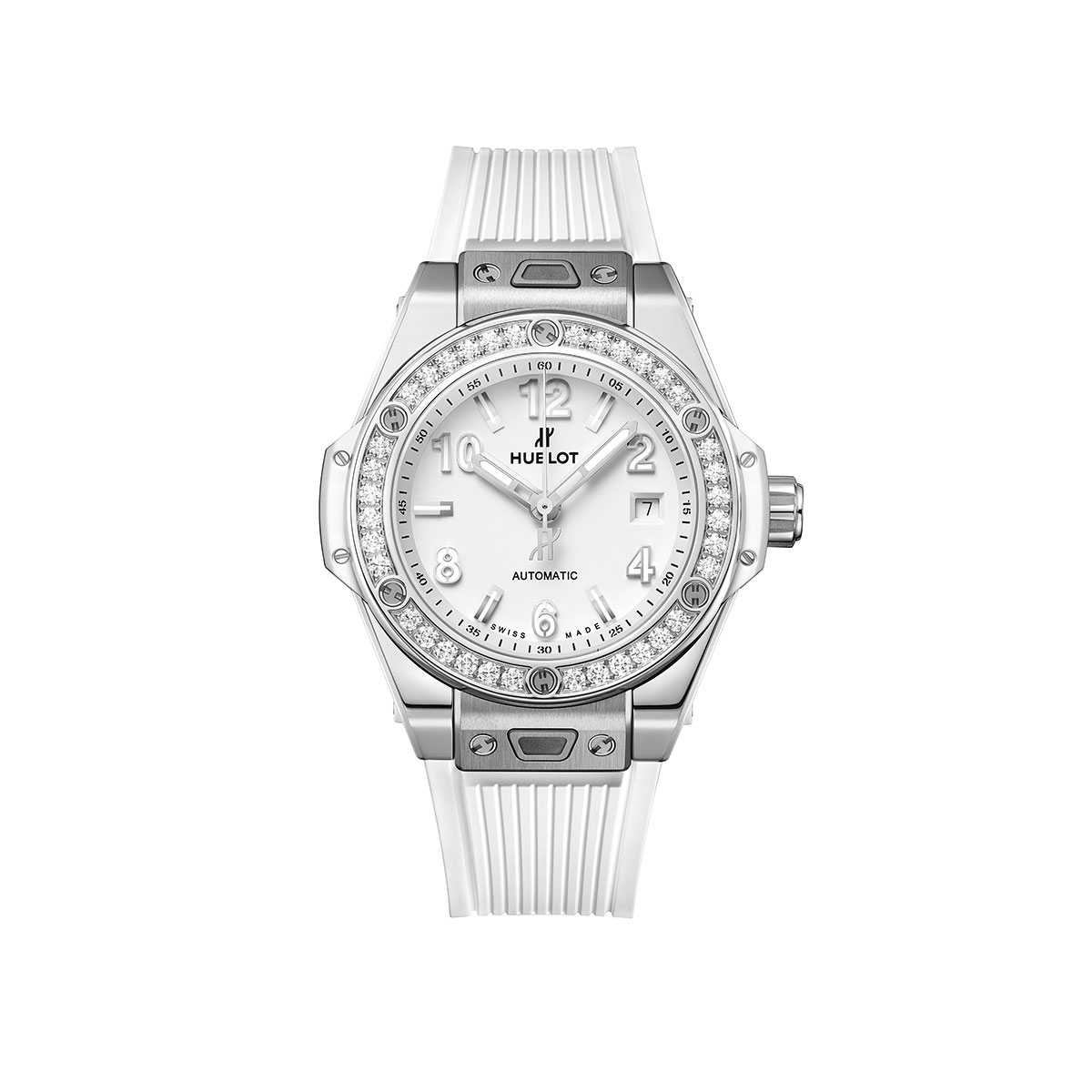 Hublot Big Bang One Click Steel White Diamond 33mm Watch