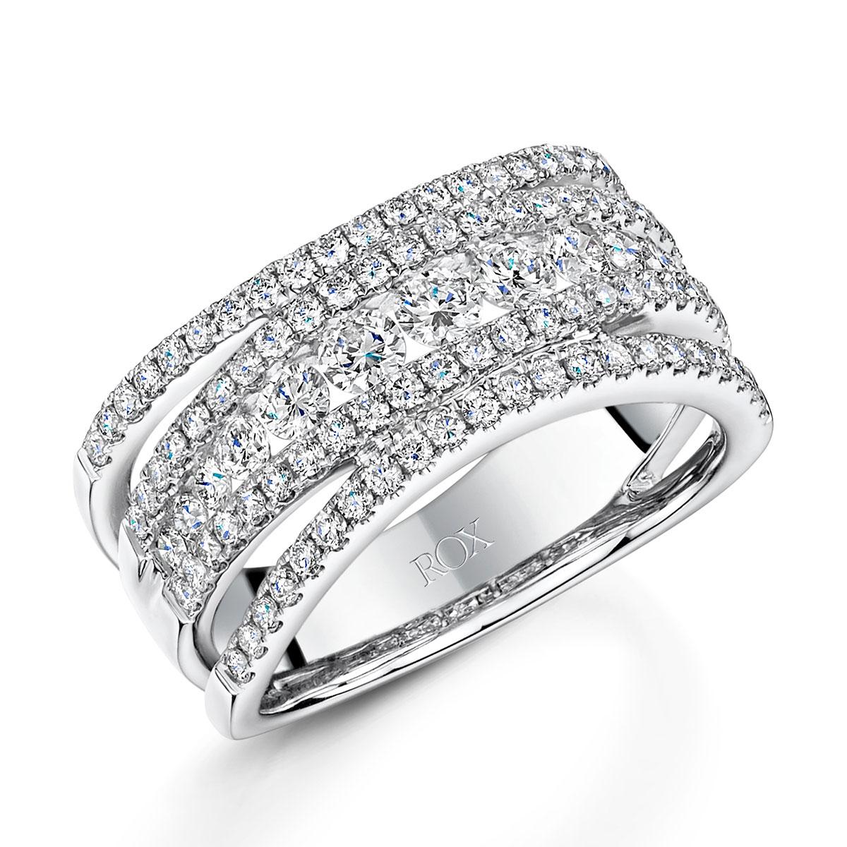 ROX Diamond Dress Ring 1.24cts