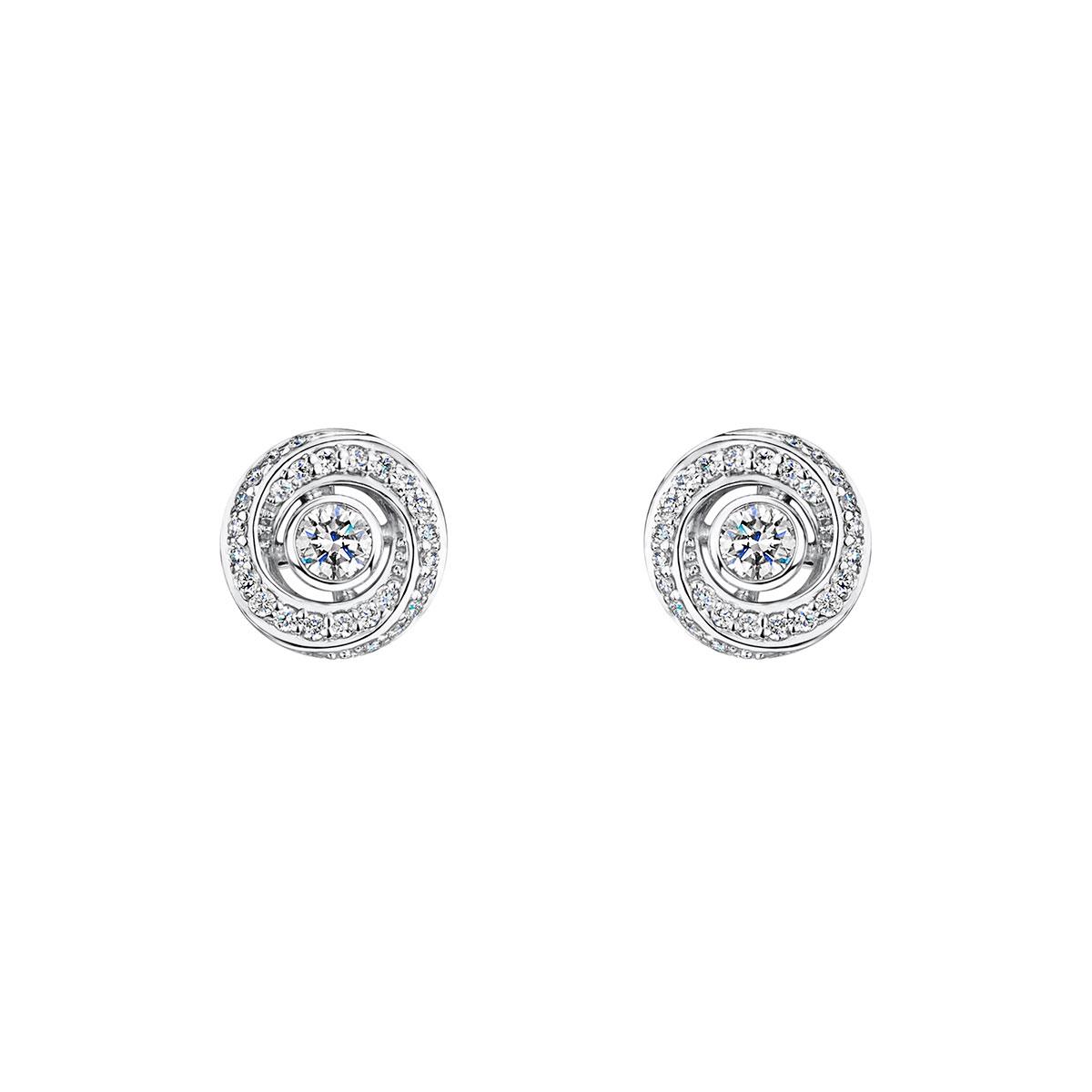 ROX Cosmic Diamond Stud Earrings 0.30cts
