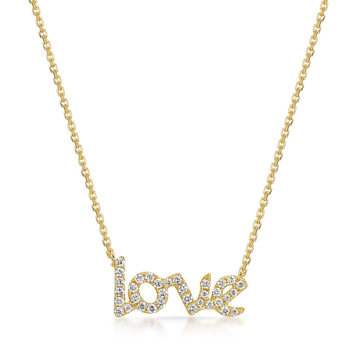 ROX Diamond Love Necklace 0.40cts