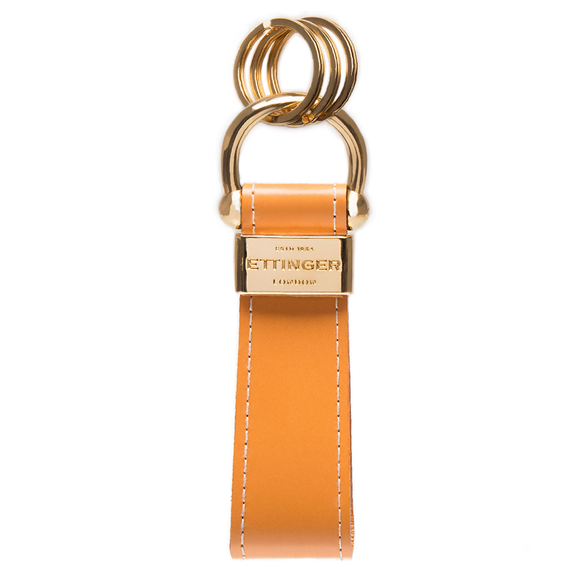 Skip to the beginning of the images gallery ETTINGER Bridle Hide Stirrup Keyring