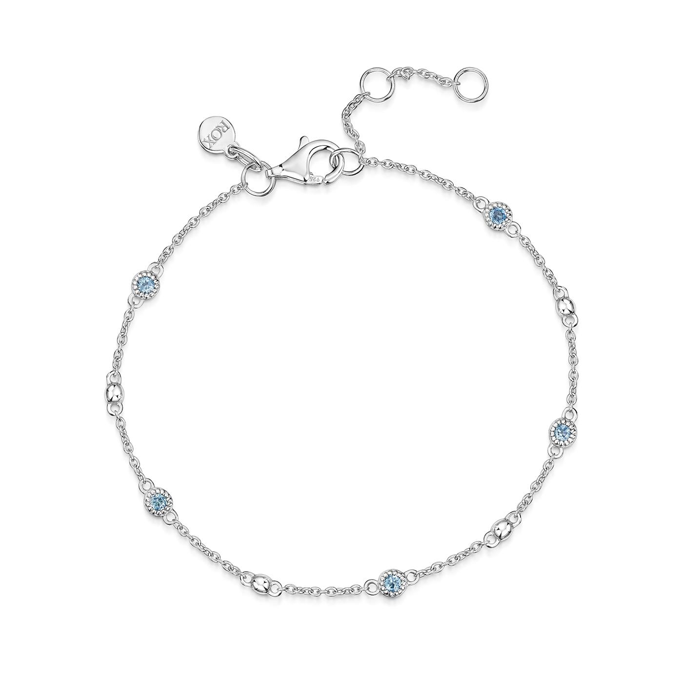 ROX Talisman Blue Topaz Bracelet