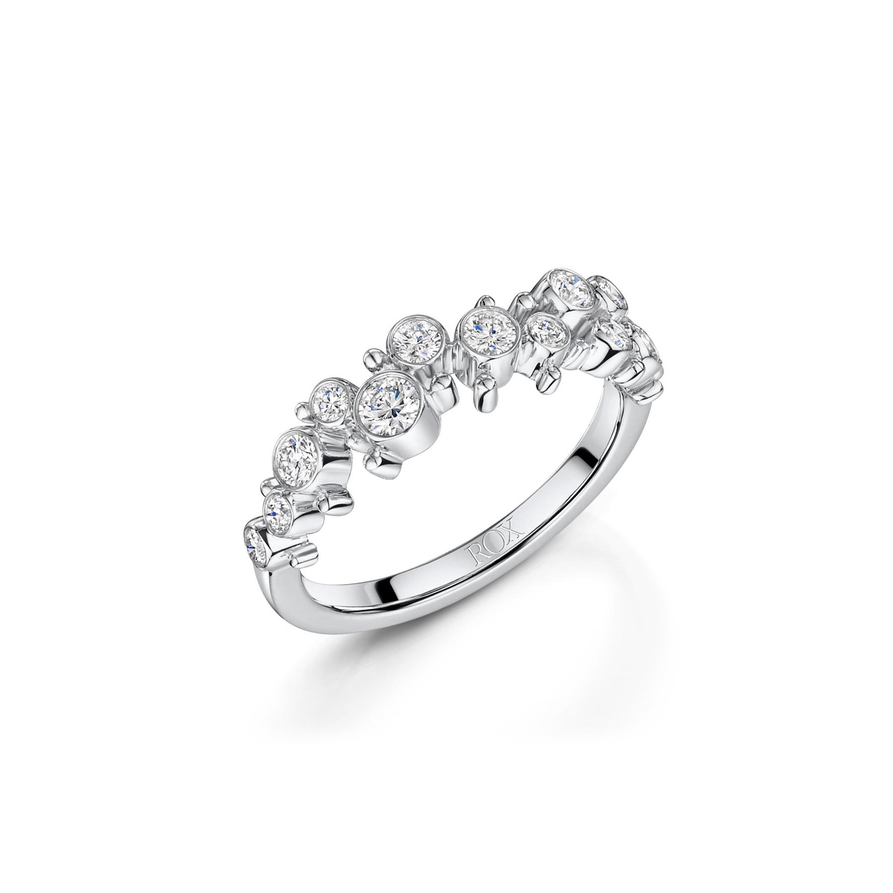 ROX Cascade Diamond Ring 0.45cts