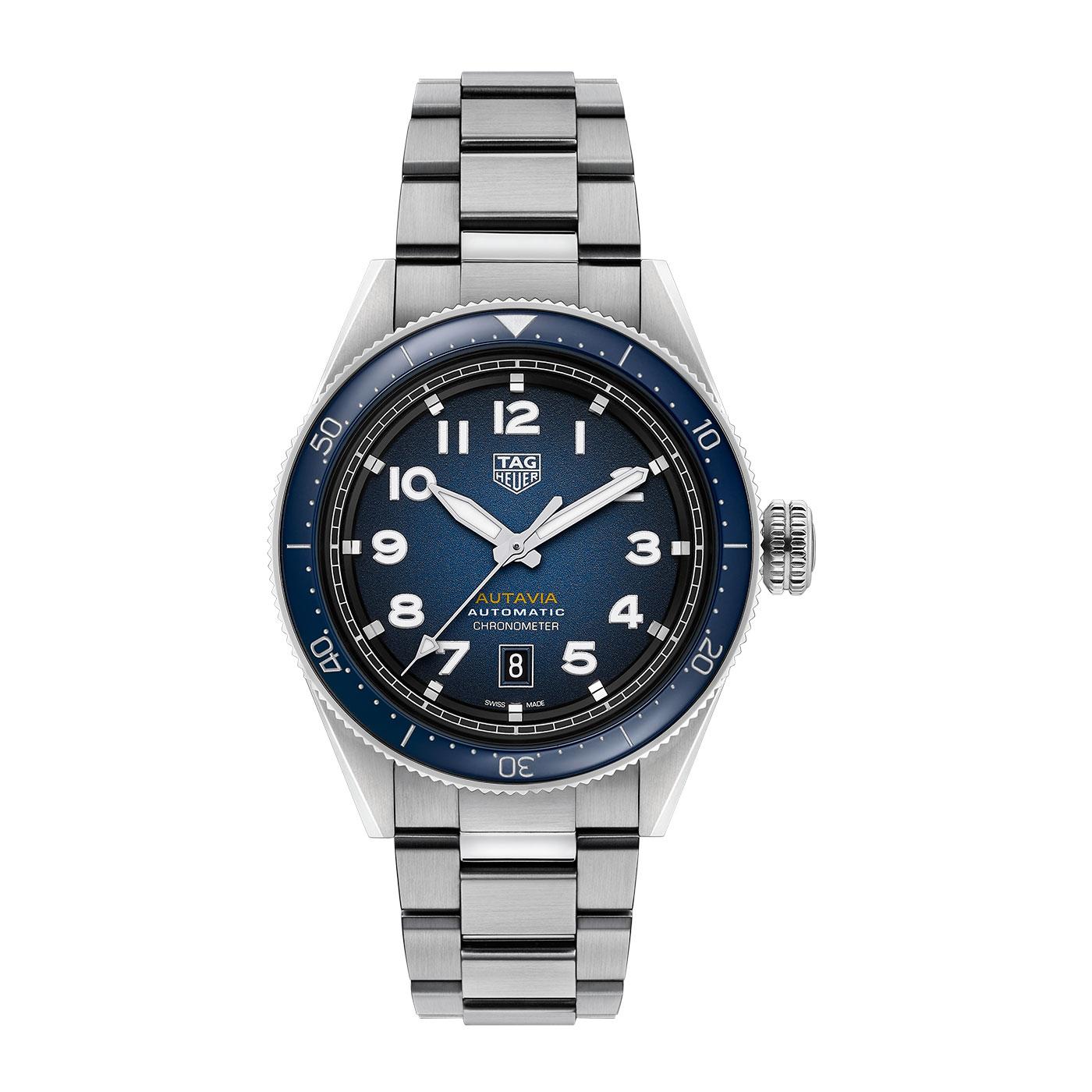 TAG Heuer Autavia Steel Watch