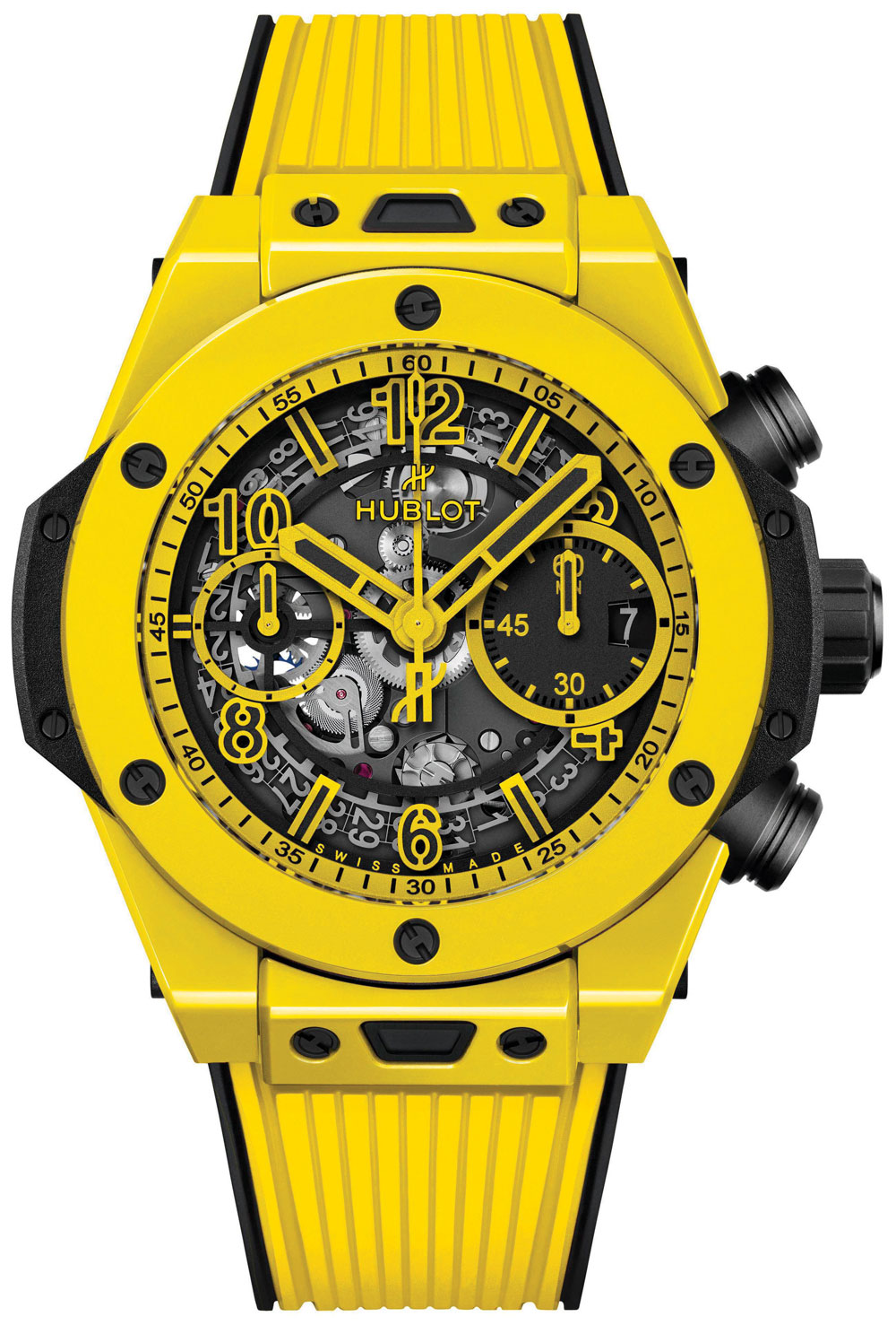 Hublot Big Bang Unico Yellow Magic 42mm Watch